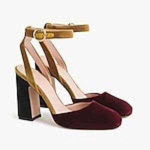 J. Crew Ankle Strap Pumps